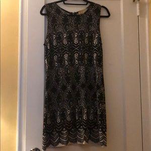 Michael Kors printed jersey dress size M